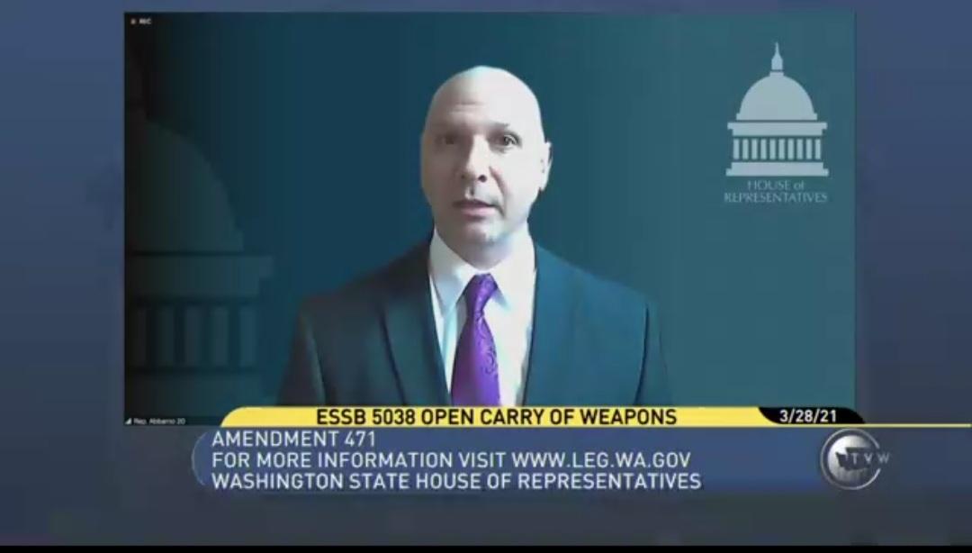 What Second Amendment Legislation was Introduced in the 2021 Legislative Session?